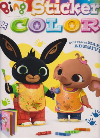 Sticker & Color - Bing - n. 25 - 7/5/2019 - bimestrale - maggio - giugno 2019