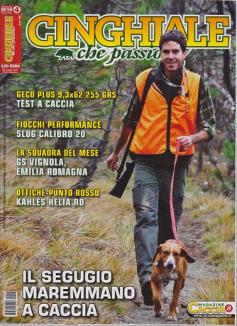 Cinghiale Che Passione - n. 4 - bimestrale - giugno - luglio 2019 -