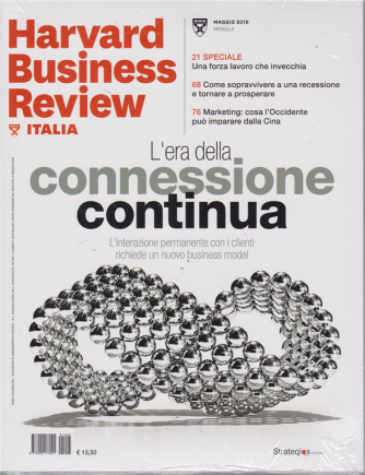 Harward Business Review - n. 5 - maggio 2019 - mensile - + Transformation through People - 2 riviste