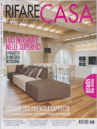 Rifare casa - n. 63 - maggio - giugno 2019 - bimestrale - + Brico io in Italia