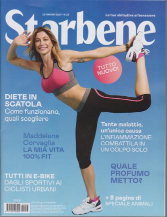 Starbene - n. 23 - 21 maggio 2019 - settimanale