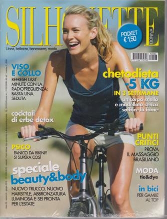 Silhouette donna pocket - n. 6 - giugno 2019 - mensile + idee in più - 2 riviste