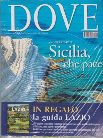 Dove + Dove Lazio - n. 6 - mensile - giugno 2019 -