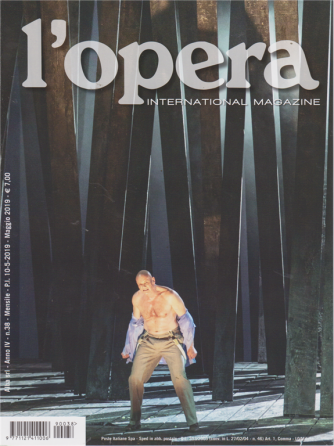 L'opera international magazine - n. 38 - mensile - maggio 2019