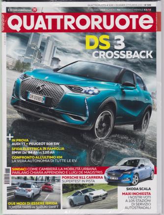 Quattroruote + Dossier Citycar - n. 766 - giugno 2019 - mensile