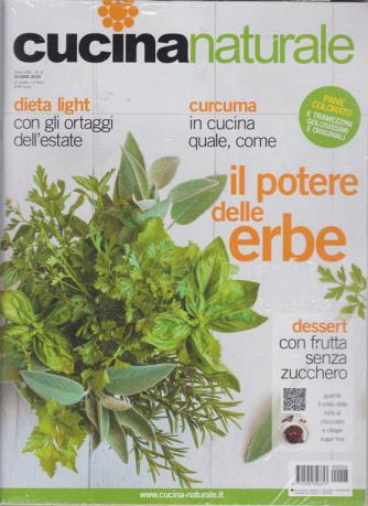 Cucina Naturale + Dieci giorni vegetariani - n. 6 - giugno 2019 - rivista + libro