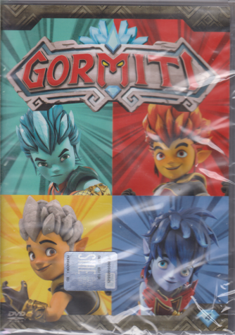 I Dvd Di Sorrisi Collaction 2 - I Gormiti - 4 Dvd+ 1 bustina di Action cards - n. 10 - settimanale - 28/5/2019