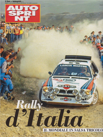 Autosprint gold collection - Rally d'Italia - n. 4