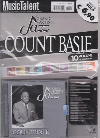 Music Talent Var.02 - Count Basie - I Grandi artisti jazz - maggio 2019 - rivista + cd