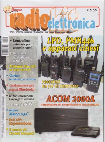 Radiokit Elettronica -  - n. 6 - giugno 2019 - mensile