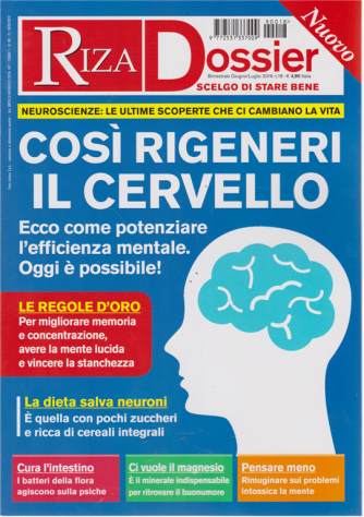 Riza Dossier - n. 18 - bimestrale - giugno - luglio 2019 -