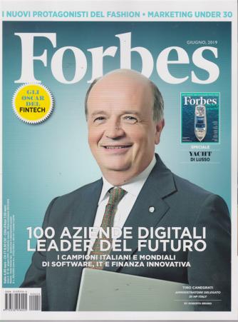 Forbes - n. 20 - giugno 2019 - mensile