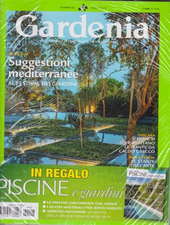 Gardenia - Piscine e giardini in regalo - n. 422 - giugno 2019 - mensile - 2 riviste