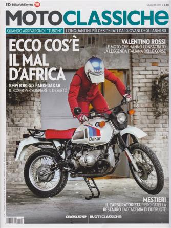 Moto classiche - giugno 2019 - n. 109 - mensile