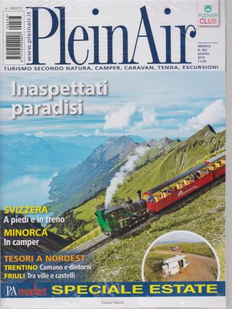 Plein Air - n. 563 - mensile - giugno 2019 - 2 riviste