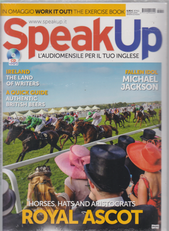 Speak Up - n. 411 - giugno 2019 - mensile - rivista + cd audio
