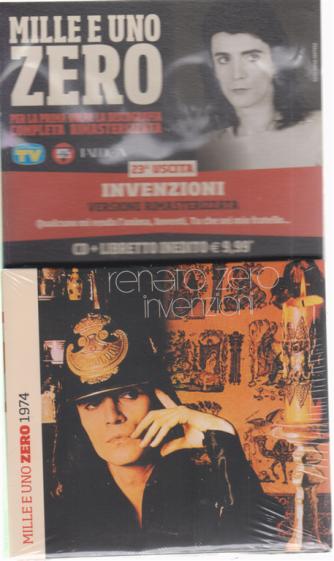 Mille e uno Zero - Uscita - n. 23 - Invenzioni - libretto + cd - settimanale - giugno 2019