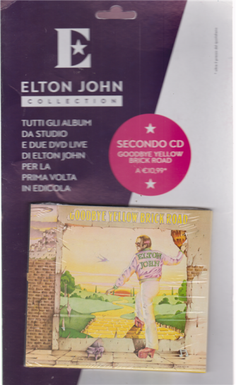 Elton John Cd - Goodbye Yellow Brick road - n. 2 - settimanale - 10 luglio 2019 -
