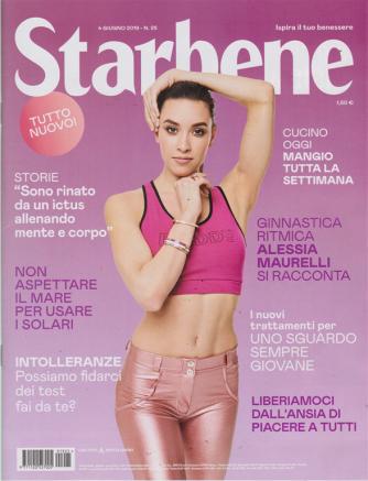 Starbene - n. 25 - 4 giugno 2019 - settimanale