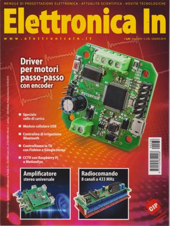 Elettronica In - n. 236 - giugno 2019 - mensile