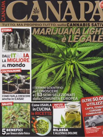 Le Guide Pollice Verde - Canapa - n. 7 - bimestrale - giugno - luglio 2019 -