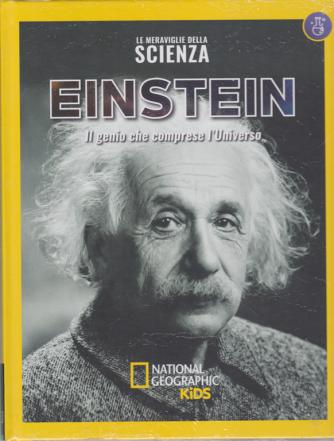 Le Meraviglie Della Scienza - Einstein  - Il genio che comprese l'Universo - n. 22 - settimanale - 8/6/2019 - copertina rigida