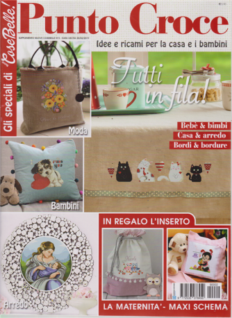 Nuove Cose Belle ! Punto croce - n. 3 - 20/2/2019 -
