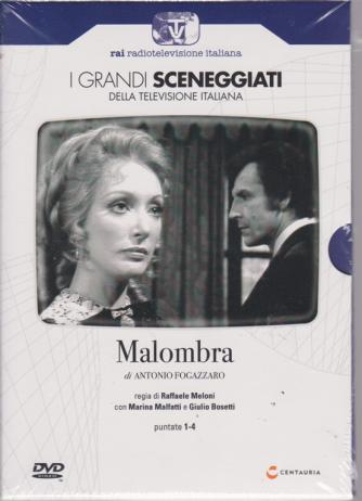 I grandi sceneggiati della televisione italiana - Malombra di Antonio Fiogazzaro - puntate 1-4 - settimanale - 13/6/2019