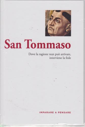 Imparare a pensare - San Tommaso - n. 21 - settimanale - 14/6/2019 - copertina rigida