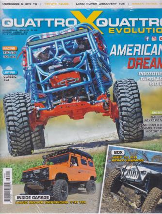 Quattroxquattro X Evolution -  - n. 26 - bimestrale - giugno - luglio 2019 -