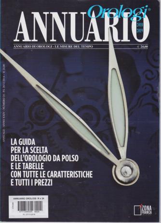 Annuario Orologi  2018-2019 - n. 24 -