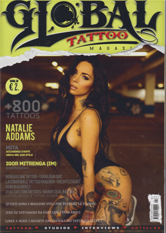 Global Tattoo magazine - n. 21 - 6/6/2019