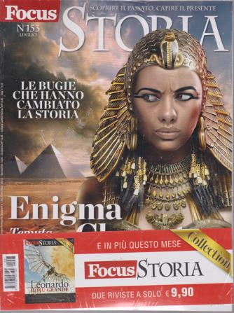 Focus Storia  + Focus storia collection - n. 153 - luglio 2019 - 2 riviste