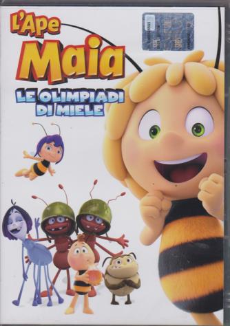 I Dvd Di Sorrisi Col 2 - L'ape Maia - Le Olimpiadi di miele - n. 5 - settimanale - 21/2/2019