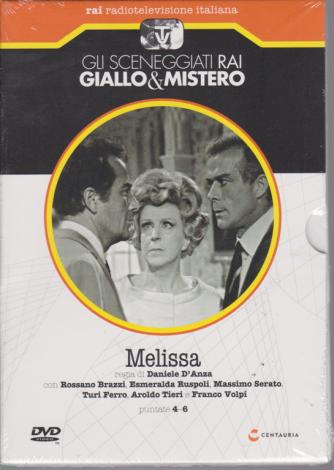 Gli sceneggiati rai giallo & mistero - Melissa - puntate 4-6 - settimanale - 15/6/2019 -