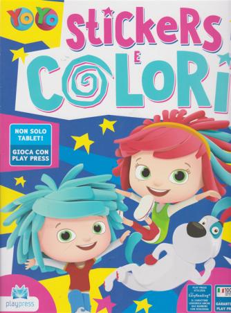 Yo Yo Stickers e colori - n. 8 - giugno - luglio 2019 - bimestrale -