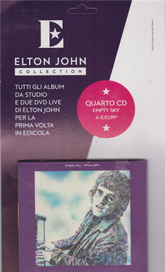 Elton John Collection  - Empty Sky - n. 4 - settimanale