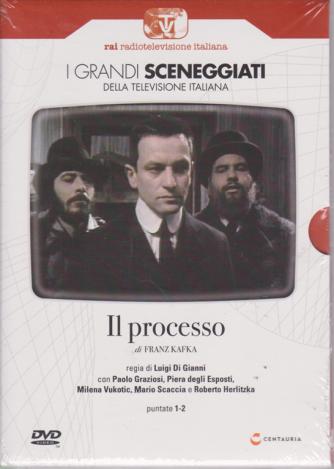 I grandi sceneggiati della televisione italiana - Il processo - di Franz Kafka - puntate 1-2 - settimanale - 20/6/2019 -