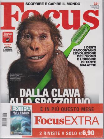 Focus + Focus extra - n. 321 - 20 giugno 2019 - luglio 2019 - 2 riviste