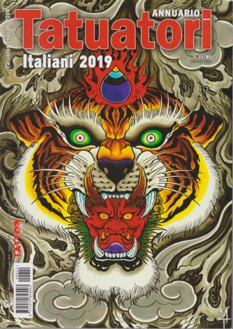 Annuario Tatuatori italiani 2019 - n. 12 - luglio 2019