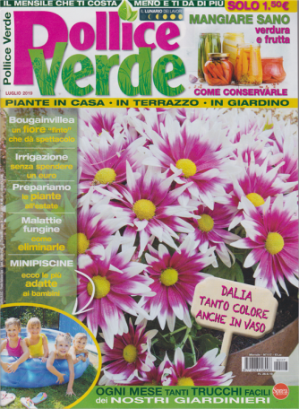 Pollice Verde - n. 117 - mensile - 26/6/2019