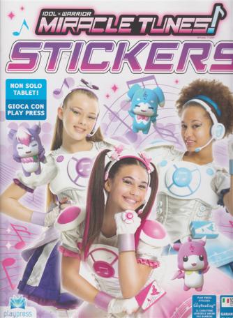 Miracle Tunes! Stickers - n. 3 - luglio - agosto 2019 - bimestrale -