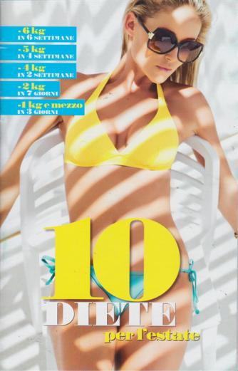 10 diete per l'estate - n. 7/2019