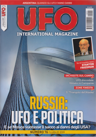 Ufo International magazine - n. 76 - luglio 2019 - mensile