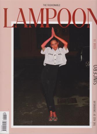 Lampoon - n. 16 - Sincero - 21 febbraio 2019 -