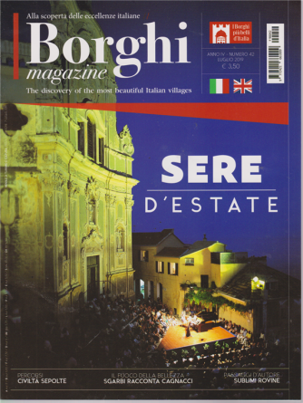 I Borghi Magazine - n. 42 - luglio 2019 - mensile