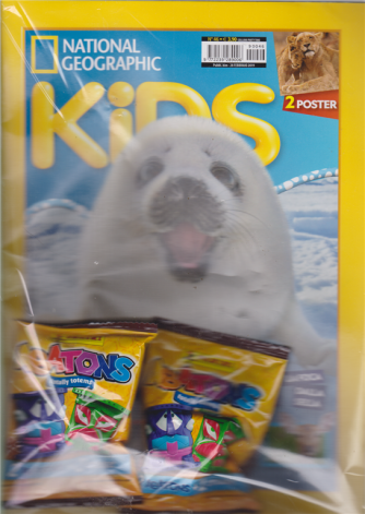 Party Time - National Geographic - Kids - n. 46 - bimestrale - 28 febbraio 2019 -