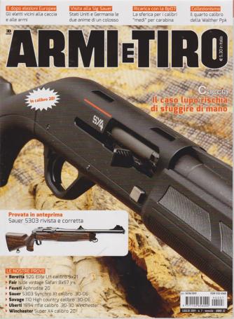 Armi e  Tiro - n. 7 - mensile - luglio 2019