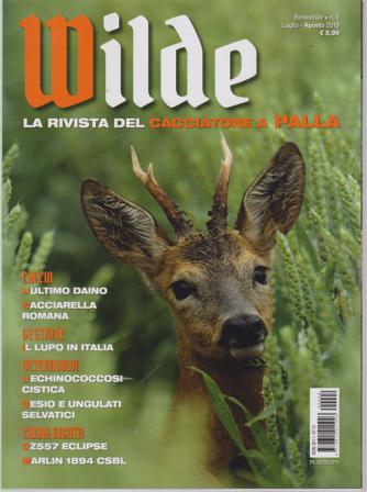 Wilde - n. 9 - bimestrale - luglio -agosto 2019