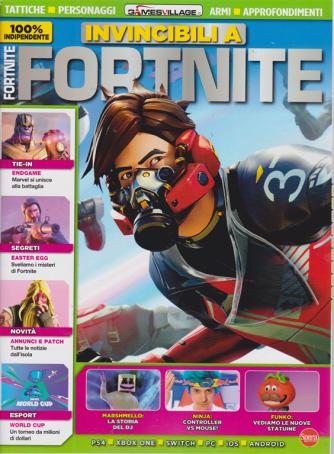 Invincibili a Fortnite - n. 2 - bimestrale - luglio -agosto 2019 -